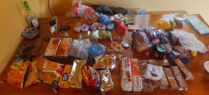 Five days of food - French Alps