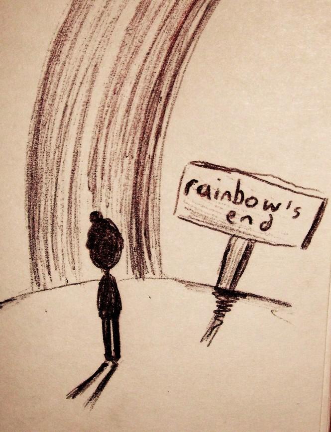 Seeking the rainbow's end