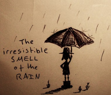 The smell of the rain