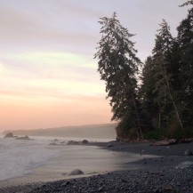 Camping on the Juan de Fuca Trail