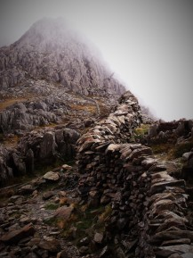 The buttress of Glyder Fawr, Snowdonia National ParkThe buttress of Glyder Fawr, Snowdonia National Park