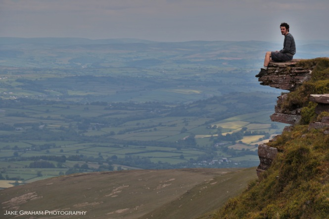 Fan y Big summit, Brecon Beacons, Wales (Jake Graham Photography)