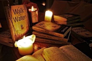 Books and candles